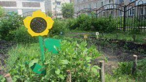 Детский огород и игры на свежем воздухе