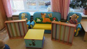 Обновление мебели в группе малышей